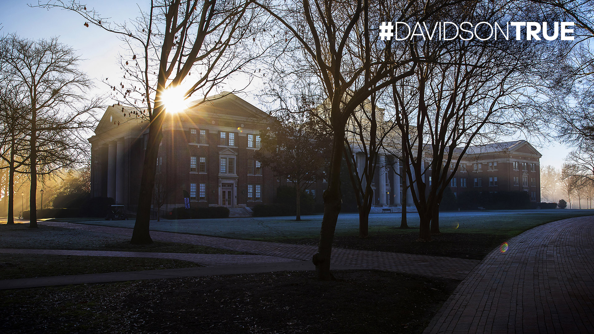 Chambers on a Chilly Morning with #DAVIDSONTRUE