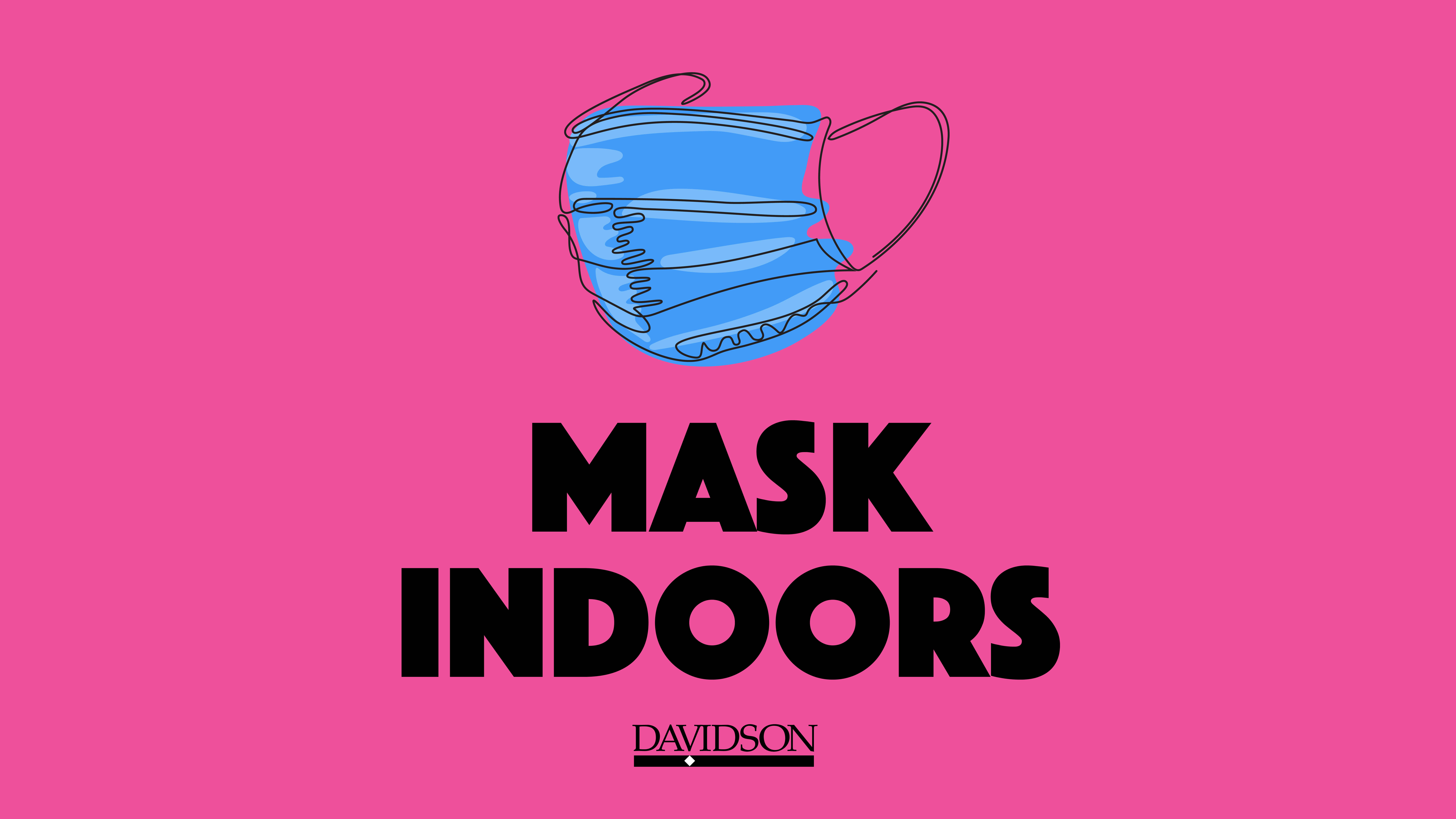 Mask outline with Mask Indoors text